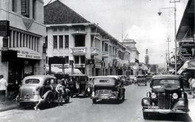 OLD BRAGA STREET - 1955
