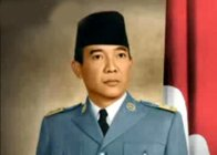 SOEKARNO - 1ST PRESIDENT OF INDONESIA