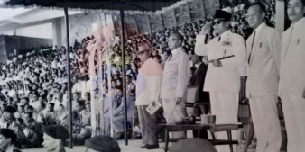 THE OPENING OF ASIAN GAMES 1962
