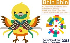 BHIN-BHIN: ONE OF THE THREE OFFICIAL MASCOTS OF AG 2018
