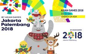 AG 2018: JAKARTA & PELEMBANG, SOUTH SUMATERA