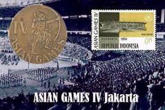 ASIAN GAMES IV - JAKARTA