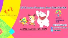 ASIAN GAMES RUN 2018
