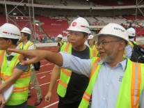 HARD WORK IN PREPARING THE ASIAN GAMES 2018