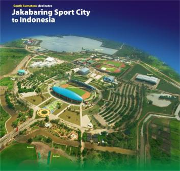 JAKABARING SPORT CITY - PALEMBANG, SOUTH SUMATERA: AG 2018