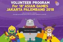 VOLUNTEER PROGRAM FOR AG 2018