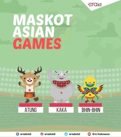 MASCOTS OF AG 2018: ATUNG, KAKA & BIHN-BIHN