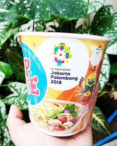 WELCOMING THE ASIAN GAMES IN INSTANT NOODLE PACKAGING