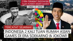 THE TWO INDONESIAN PRESIDENTS: SUKARNO & JOKO WIDODO